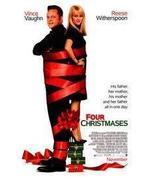 Four Christmases  27 x 40 Original Movie Poster 2008 - $9.95