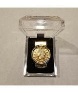 Vintage Kellogg & Co 1854 Liberty Head Gold Color Coin Collector Money C... - $21.21