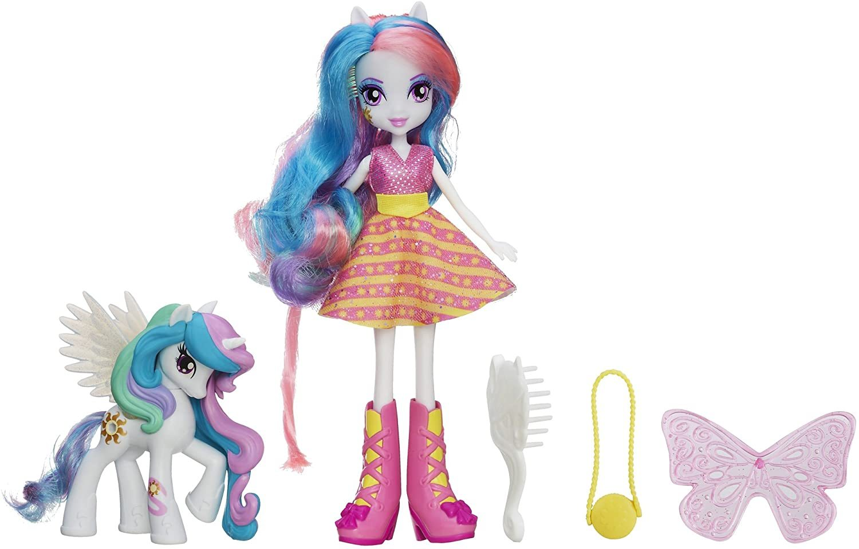 Image 0 of My Little Pony Equestria Girls Celestia Doll and Pony Set