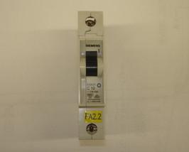 Siemens 1 Pole Circuit Breaker 5SX21 C10 - $5.50
