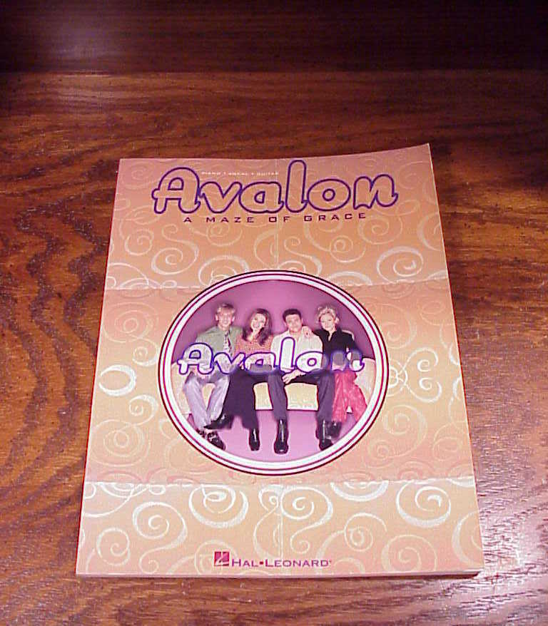 Avalon A Maze Of Grace Song Book, 10 songs, songbook