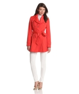 Via Spiga Women's Women's Water-Resistant Single-Breasted Trench Coat s... - $99.99