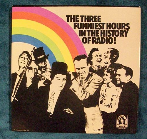 THE THREE FUNNIEST HOURS IN RADIO HISTORY!    3-Record Boxed Set
