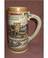 g4 Strohs Brewery Heritage Series II Tall Beer Stein Numbered Collectible - $5.98