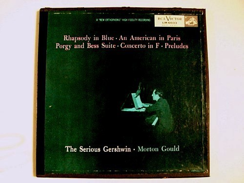 THE SERIOUS GERSHWIN    Morton Gould    2-Record Boxed Set