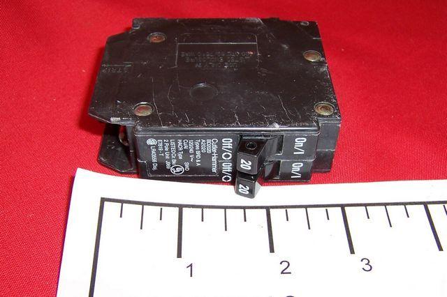 Cutler hammer bd piggyback circuit breaker amp
