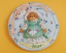 Enesco Cherished Teddies Hope Wall Plaque - $9.50