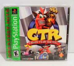 Crash Team Racing CTR PS1 (PlayStation 1, 1999) Complete! - $19.95