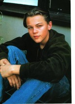 Leonardo Dicaprio teen magazine pinup clipping looking sweet in jeans Popstar
