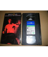 BRUCE LEE, CHUCK NORRIS - Return of the Dragon VHS, 1973 Golden Harvest - $3.95