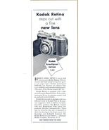 1937 Kodak Retina EKTAR Anastigmat Camera  - $10.00