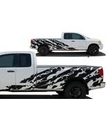 Custom Vinyl Decal SHRED Wrap Kit for Nissan Titan Truck 2004-13 Long Be... - $148.45