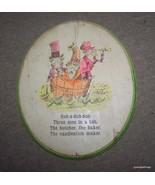 ANTIQUE 1920s Dr. Zeus RUB A DUB DUB THREE MEN ... - $35.00