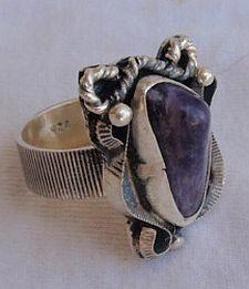 Purple ring BUD 12