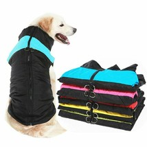Dog Waterproof Vest Warm Cotton Coat Jacket Clothes Accessories Pets Sup... - $12.99+
