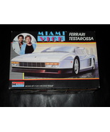 1987 Monogram Model Kit Miami Vice Ferrari Testarossa - $19.99