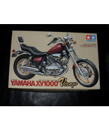 1985 Tamiya Model Kit Yamaha XV1000 Virago 1/12 Scale - $17.99