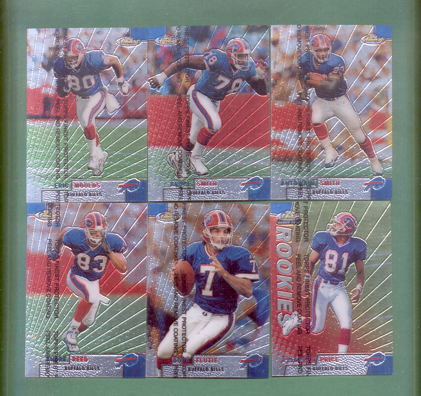 1999 Finest Buffalo Bills Football Team Set