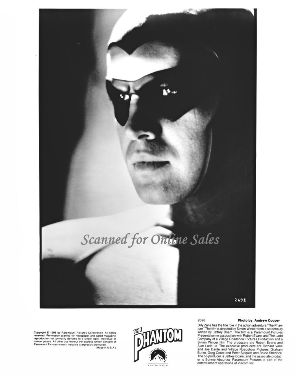 Primary image for Billy Zane The Phantom 8x10 Photo 1733414