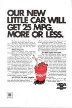1970 GM Chevrolet Vega artistic magazine print ad - $10.00