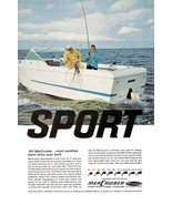 1966 Mercruiser stern drive power packages print ad - $10.00