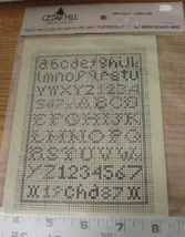 "Pattern: Cross Stitch ""Antique Alphabet"" - $5.99"
