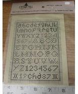 "Pattern: Cross Stitch ""Antique Alphabet"" - $5.99"