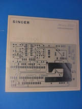 SINGER ATHENA 2000 OPERATORS GUIDE - $25.00