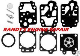 Walbro Carb Carburetor kit engine parts K20-WYJ rebuild - $16.99