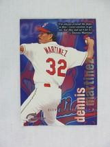 Dennis Martinez Cleveland Indians 1996 Fleer Skybox Baseball Card 234 - $0.98