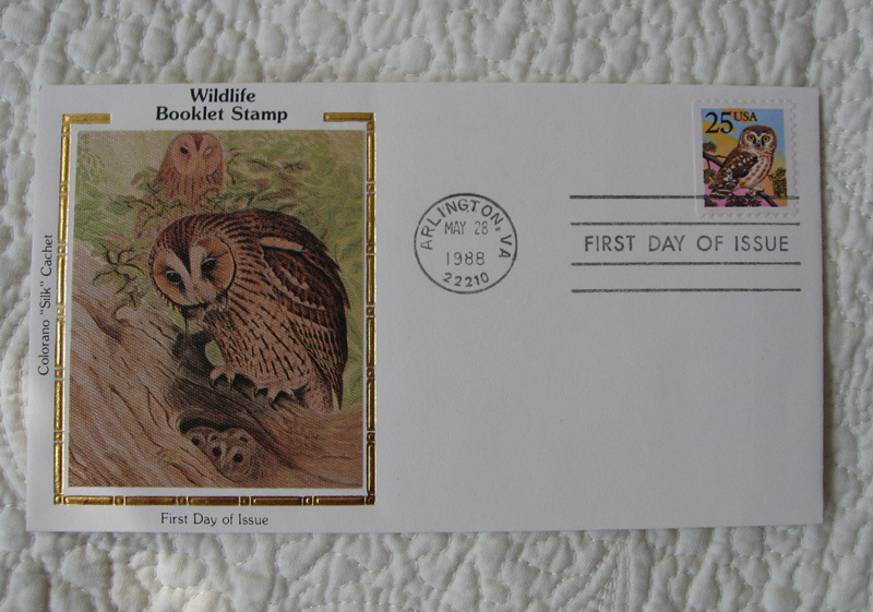 """Set of 3 US """"Wildlife"""" Stamps Booklet Colorano Silk First Day Cover FDC 1998"""