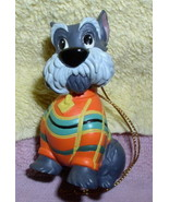 Disney Lady and the Tramp Scottie Dog Ornament rare - $33.50