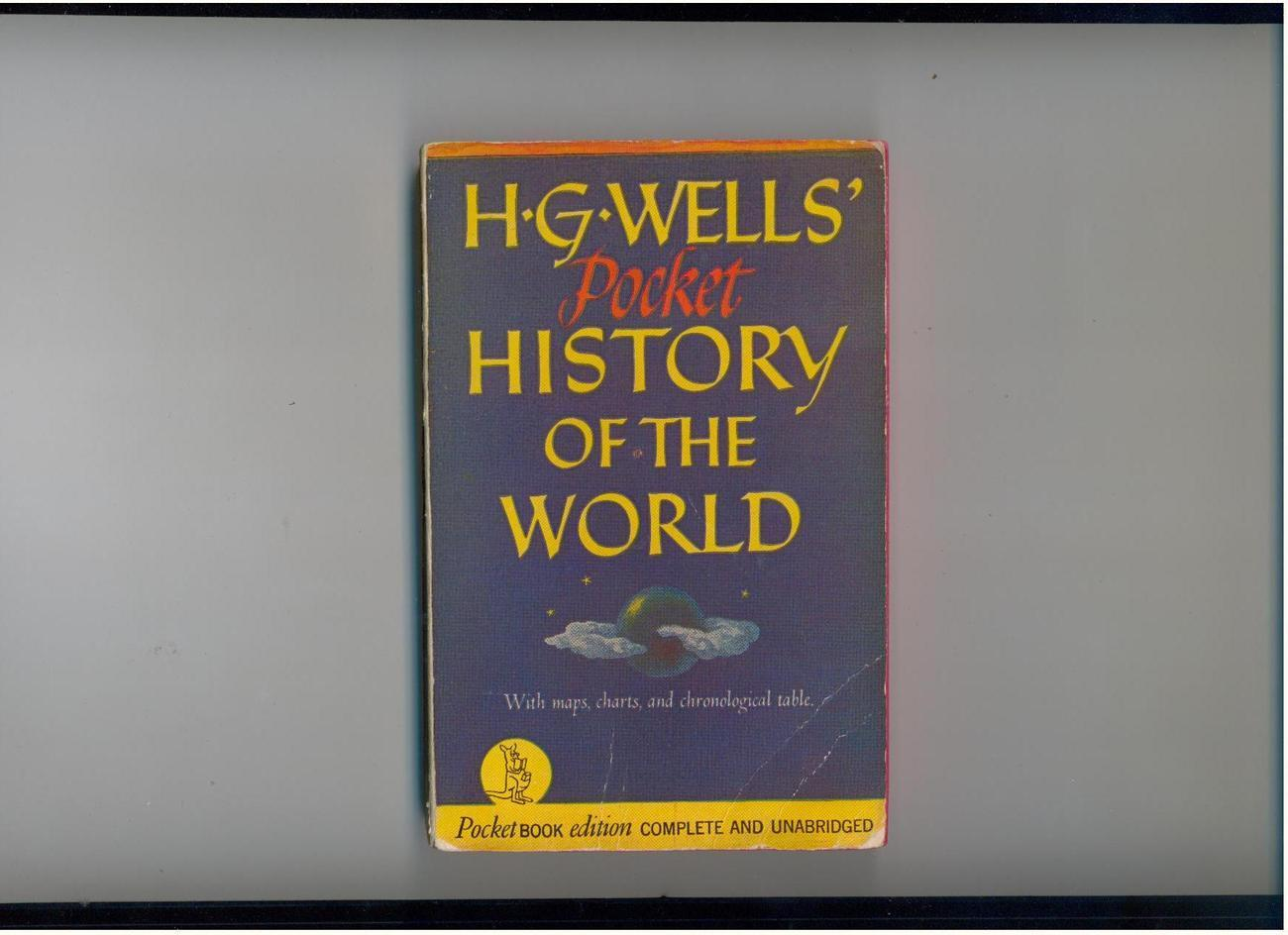 H.G. WELLS' POCKET HISTORY OF THE WORLD - 1941