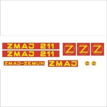 ZMAJ 211 - Combine Harvester decal set, reproduction - $65.00