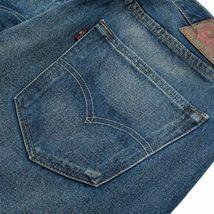 Levi's 501 Men's Original Fit Straight Leg Jeans Button Fly Blue 501-2166 image 4