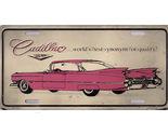 Cadillac car plate thumb155 crop