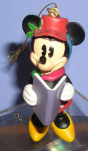 Disney Minnie Mouse caroling with song book ornament - $18.29