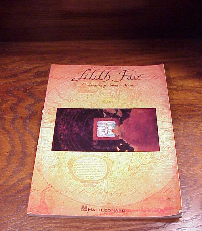Lilith Fair, A Celebration of Women in Music Song Book, 1998