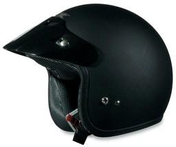 Afx FX-75 Helmet Solid Flat Black Xs - $69.95