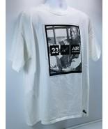 Vintage Michael Jordan Air V Rare Air Collection Men's 100% Cotton T Shirt XL - $29.69