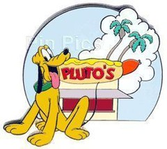 Disney  Pluto Hot Dog Stand LE  Auction great Pin/Pins - $25.61
