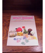 1982 The Novelty Songbook, no. 20, 34 songs, Song Book - $7.95