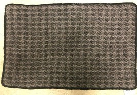 Pottery Barn Ffenton Black Charcoal Lumbar Pillow Cover 16x26 NWT knit F... - $40.59