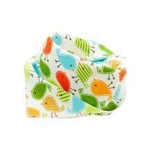 Bird,Adjustable,4Pcs Baby Neckerchief/Saliva Towel For Baby,Pure Cotton