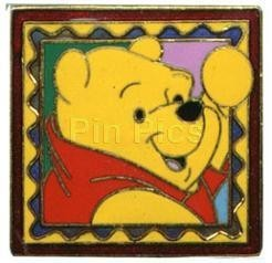 Disney Winnie the Pooh Frame / Stamp Pin/Pins