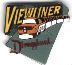 Disneyland - 1998 Attraction ViewLiner  ride  Pin/Pins