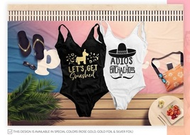 Bachelorette Swimsuits, Adios Bitchachos, Mexico Beach Bachelorette, Bac... - $19.99
