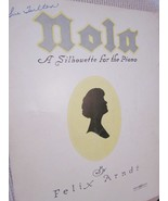 Vintage Sheet Music Nola 1942 by Felix Arndt - Piano Music  - $7.99