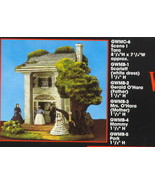 Gone with the Wind Set Sold out Miniatures Tara - $332.61