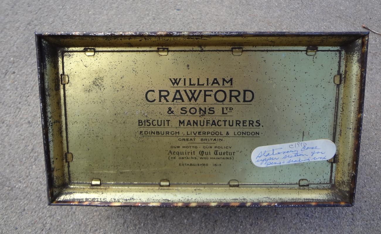 William Crawford Biscuit Tin
